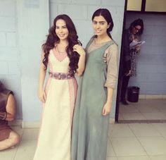 Vestido das irmãs hebreias
