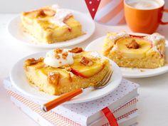 Probieren Sie unsere köstlichen Apfelkuchen vom Blech! Denn die leckeren Kreationen versprechen Fruchtgenuss im Quadrat und eine köstliche Apfel-Saison.