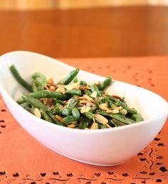Fresh Green Beans with Shallot Butter Sauce on MyRecipeMagic.com