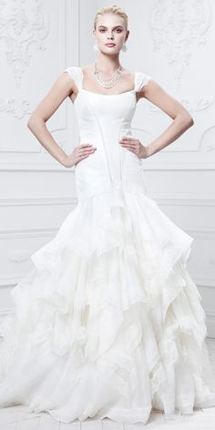 Truly Zac Posen Fall 2014 Bridal Collection - Truly Zac Posen from #InStyle
