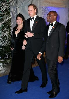 The Duke Of Cambridge Attends The Winter Whites Gala In Aid Of Centrepoint 26 Nov 2013