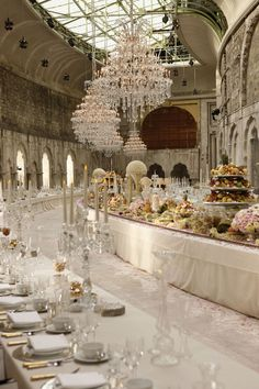 Chanel's Pre Fall 2012 Bombay Paris Fashion Show. Would be a beautiful idea for a wedding