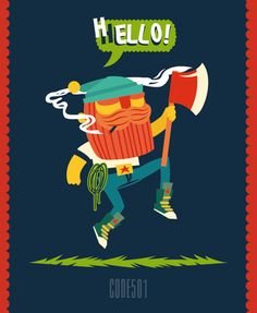 CODE501 х AWESOME LETTER ON THE T-SHIRT by CODE501 - CREATIVE BAND !, via Behance