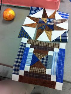 bonnie hunter-These are the blocks from the Spring Mountain Morning Quilt.