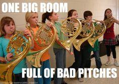 ~TheFulfenator Mellophone, Marching Band Memes, Band Problems, Band Jokes, Band Nerd, French Horn, Oboe, Music Humor, Feeling Down