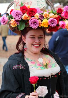 Bay Area Renaissance Fair: Saucy Rose Wench