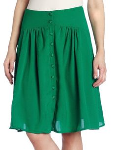 aryn K Women`s Button Skirt $62.00