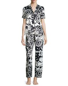 Mother's Day Gift Guide - Natori Tuvalo floral-print pajamas