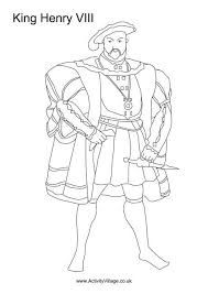 Image result for colouring pages king henry VIII