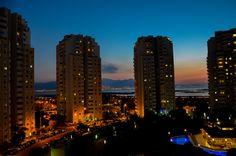 Sunset Between Buildings  Izmir, Karsiyaka, Mavisehir