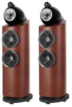 The Bowers and Wilkins 803 Diamond D3 Speakers still produces the same astounding sound quality as its larger counterparts, but just in a smaller, more place able size. Rosenut.