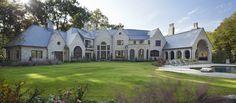 Harrison Design, Walnut Kitchen, Large Windows, National Parks, Floor Plans, House Design, Exterior, English, Mansions