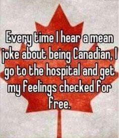 Hahahaha that's funny. Meanwhile, In Canada - Canadian Island Canada Jokes, Canada Funny, Canada Eh, Canadian Things, I Am Canadian, Canadian Humour, Funny Canadian Memes, Canadian Culture, Tumblr Posts
