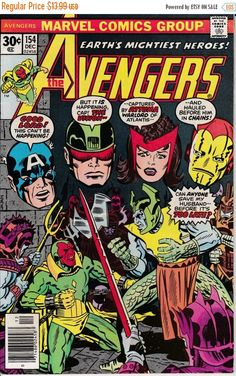 Winter 20% Off Sale Avengers 154 December 1976 by ViewObscura