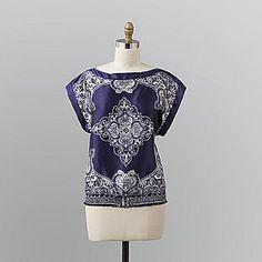 Ideas sewing clothes refashion upcycling simple for 2019 Bandana Top, Bandana Scarf, Diy Clothing, Clothing Patterns, Clothes Refashion, Bandana Crafts, Bandana Ideas, Sewing Blouses, Clothes Crafts