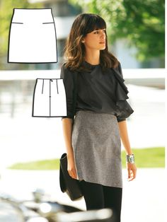 Read the article 'Greyscale: 7 Sophisticated Sewing Patterns' in the BurdaStyle blog 'Daily Thread'.