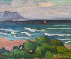 Maggie Laubser / Hermanus 1921