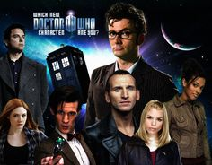 Which New 'Doctor Who' Character Are You? I'm... Donna? O.o XD As much as I love her, I'm kind of more her polar opposite normally... XD