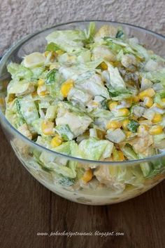Appetizer Salads, Appetizer Recipes, Salad Recipes, Healthy Finger Foods, Healthy Recipes, Easy Home Cooked Meals, Food Design, Chicken Recipes, Good Food