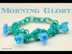 How to Make a Rainbow Loom Morning Glory Bracelet