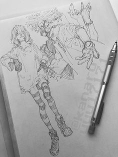 sketches and drawings Anime Drawings Sketches, Cool Drawings, Drawing Faces, Pretty Art, Cute Art, Manga Art, Anime Art, Arte Sketchbook, Sketchbook Ideas