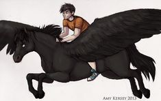 Percy and Blackjack by Deesney
