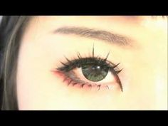 Tutorial : Cosplay/Anime Eye Makeup 22