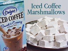 Homemade Iced Coffee Marshmallows Recipe from @Brandie Valenzuela