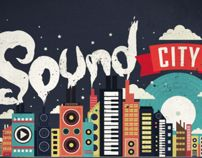 SOUND CITY ILLUSTRATION FOR UNO MAGAZINE by Dan Elijah Fajardo, via Behance