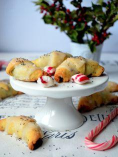 bagels with poppy seeds, kruche rogaliki z makiem