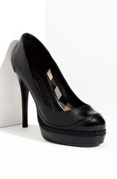 Burberry Platform Pump