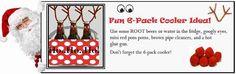 Great 6-pack Root Deer cooler!