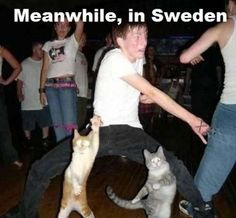 In Sweden...