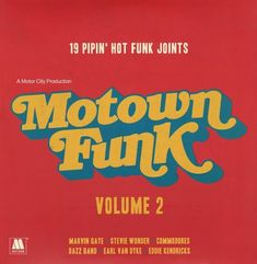 Various : Motown Funk Vol 2 – 19 Pipin Hot Funk Joints (colored vinyl pressing) Record Store Day Release) (LP, Vinyl record album) Retro Typography, Retro Font, Graphic Design Typography, Logo Design, Layout Design, Design Art, Vintage Graphic Design, Retro Design, Graphic Design Inspiration