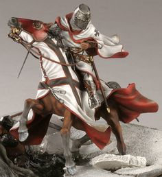 Historic pewter miniatures.   KNIGHT