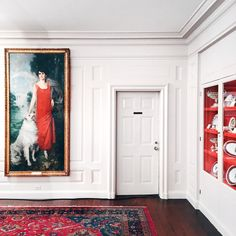 The Red Room in The White House (photo by Bonnie Tsang).