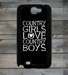 Country Girl ® Heart CB Note 2 Phone Case/Cover  #Samsung #Galaxy2 #Smartphones #CountryGirl