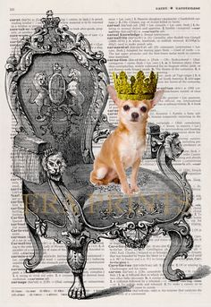 Your Royal Petness Personalized Pet Dictionary Page by EraPrints, $12.00