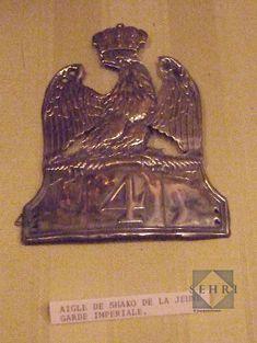 Plaque de shako de la Jeune Garde Empire, Napoleonic Wars, Om, Wings, Darth Vader, French, Pattern, Fictional Characters, Licence Plates