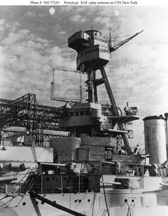 USS New York (BB-34) - Front Conning Tower (including superstructure and spotting top).