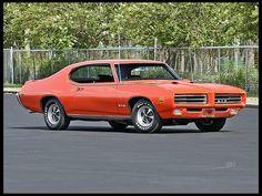 1969 Pontiac GTO Judge  400/366 HP, 4-Speed, Factory Air