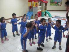 Brain gym for kindergarten, they love it.
