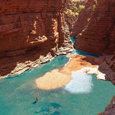 "10.2 k likerklikk, 219 kommentarer – Western Australia (@westernaustralia) på Instagram: ""Welcome to Karijini National Park in @australiasnorthwest - your own private, natural swimming…"""