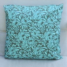 Pillow. I just like this attern, palette