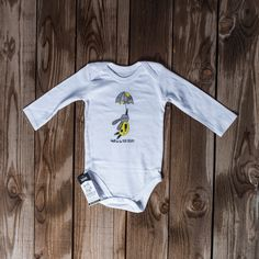Long sleeve vest Yellow bunny with umbrella 6-12 months