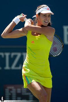 Ana makes confident start Divas, Sabine Lisicki, Petkovic, Caroline Wozniacki, Ana Ivanovic, Tennis Clothes, Serena Williams, Sports Photos, Winter Olympics