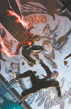 NIGHTWING #22 by BRETT BOOTH and NORM RAPMUND
