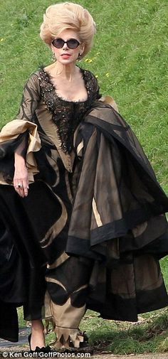 Christine Baranski is filming the role of Cinderella's mother in Into the Woods.  She is 61.