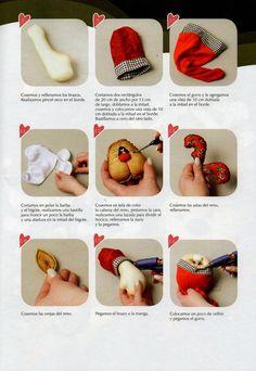 Muñecos soft navidad 2015 - Revistas de manualidades Gratis Handmade Christmas, Baby Shoes, Toys, Bella, Google, Cactus, Santa, Dolls, Rolodex