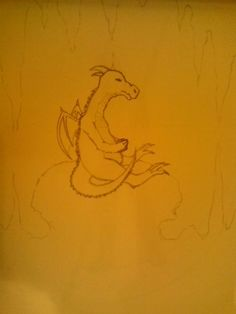 A little dragon all alone  ;/
